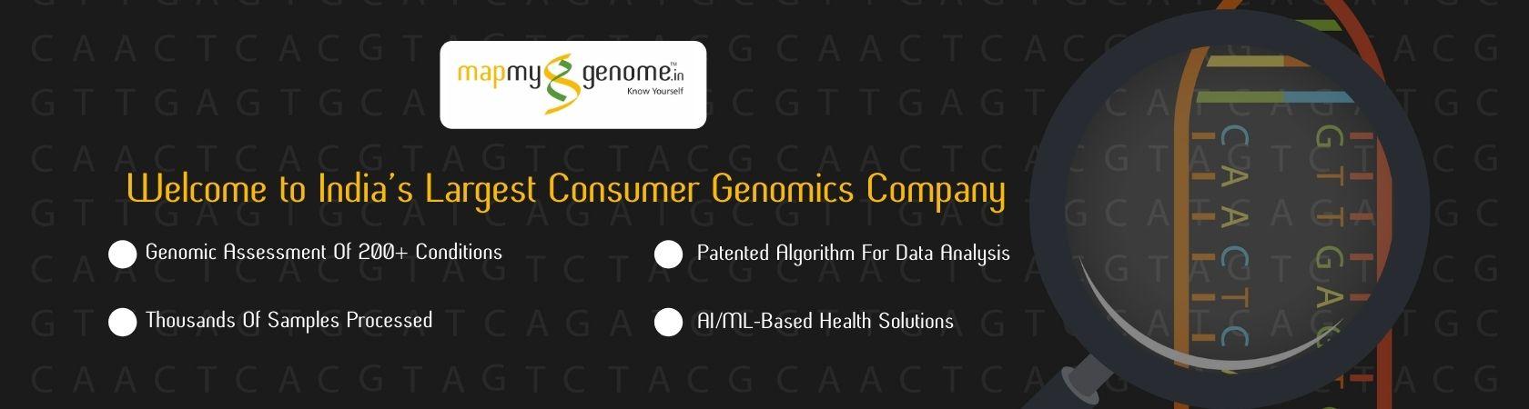 Mapmygenome - Largest Consumer Genomics Company