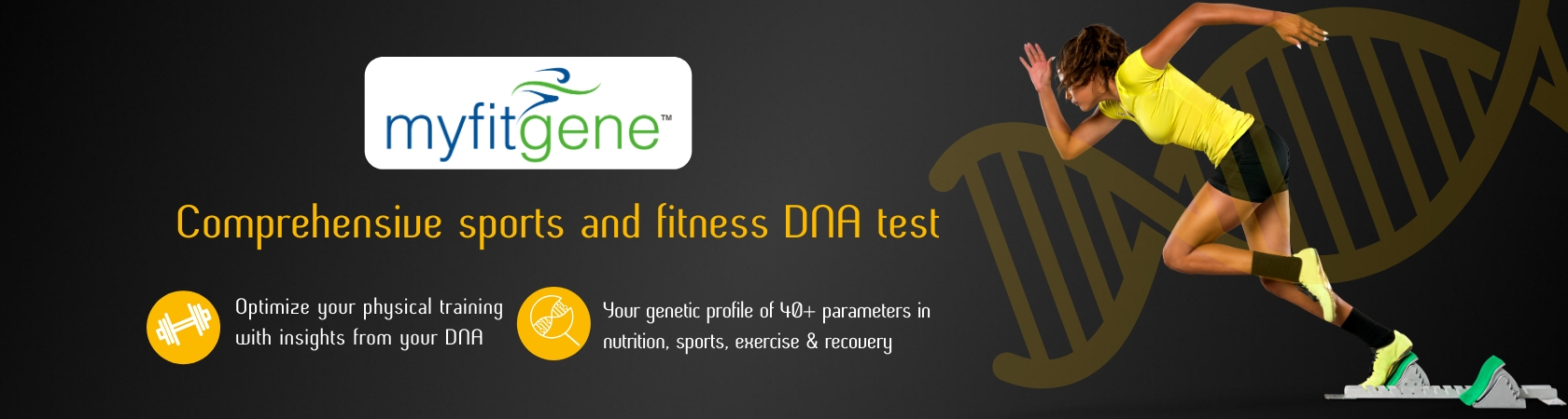 MyFitgene - Genetic Testing For Fitness & Weight Loss
