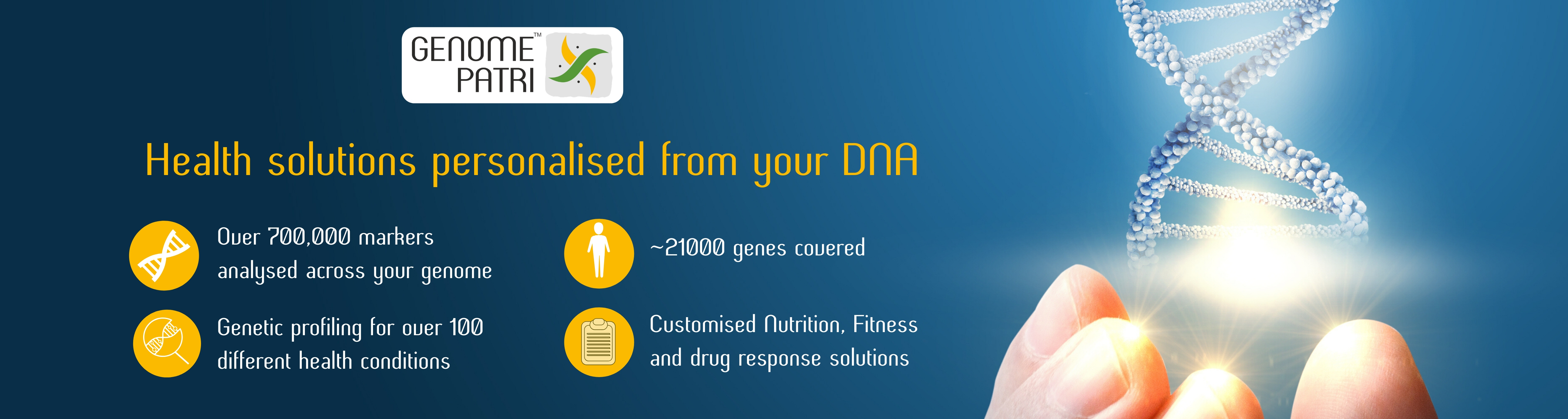 Genomepatri - Health & Wellness Genetic Test