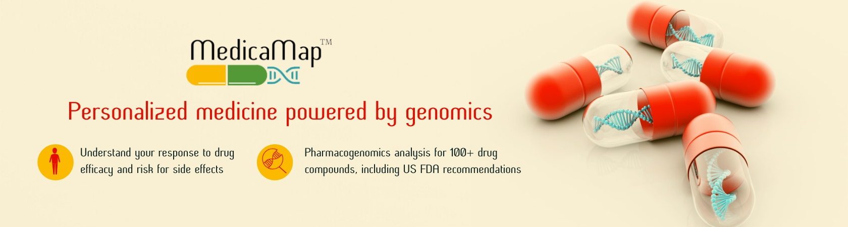 Medicamap- Genetic Testing for Drug Response