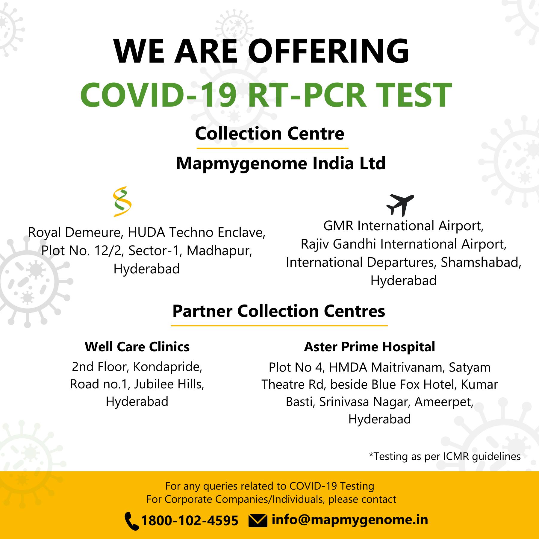 COVID-19 RT-PCR TEST